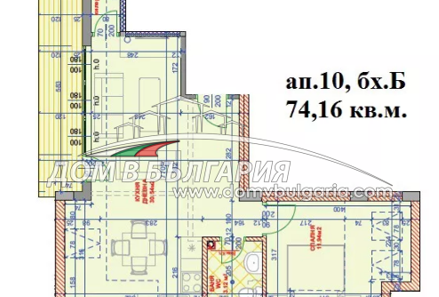 КОЛХОЗЕН ПАЗАР – ГОЛЯМ ДВУСТАЕН АПАРТАМЕНТ - ДЕЛИМ НА ТРИСТАЕН-Дневна 31 кв.м .